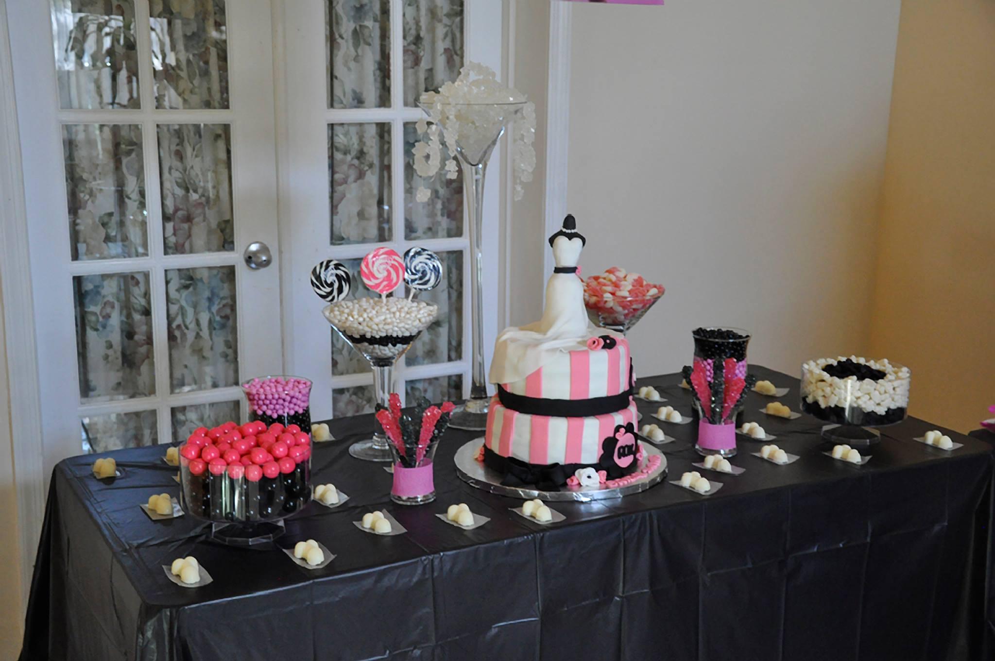 Enjoyable Bachelorette Party Bridal Shower Candy Buffet Download Free Architecture Designs Embacsunscenecom